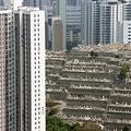 Az ingatlanoknál is drágábbak a sírok Hongkongban