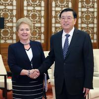 A parlamenti kapcsolatok voltak terítéken Mátrai Márta pekingi tárgyalásain