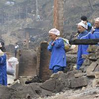 Többszáz éves kínai faluban pusztított tűz