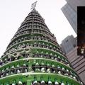 Egy gyönyörű macsó karácsonyfa Kínából