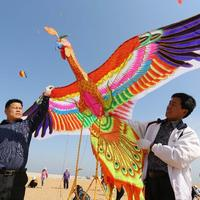 Több mint 1100 sárkányt reptettek egyetlen napon Kelet-Kínában