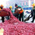 41 tonna tűzijáték és petárda hulladékot gyűjtöttek be Pekingben a holdújévi ünneplések után