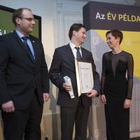 EXIM Példakép különdíjas: Belegrai Péter