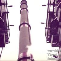 Kétszáz méterrel az erőmű felett. Kéményépítők Százhalombattán.