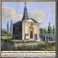 Az ürömi Szent Alexandra vértanúról elnevezett pravoszláv kápolna