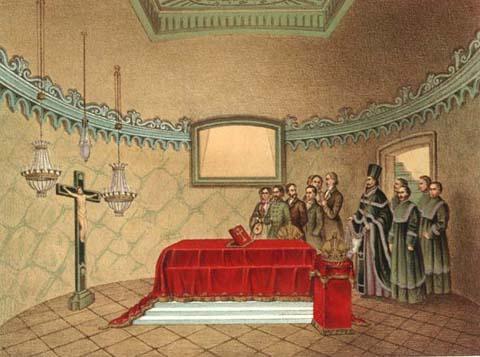 A sírbolt 1803-ban - metszet.jpg