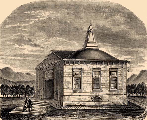 Alexandra Pavlovna sírja Ürömben Vasárnapi Újság 1854-60_1.jpg