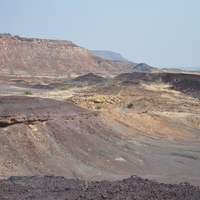 Burnt Montain, Organ Pipes, Twyfelfontein, Petrified Forest, Rock Finger