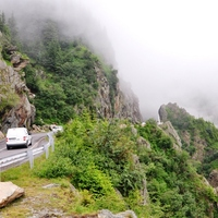 Romániai kiruccanások- Transzfogarasi út