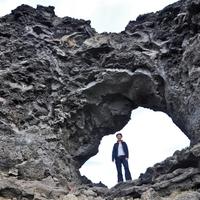 Mývatn tó, pszeudokráterek, Dimmuborgir, Hverfell, Leirhnjúkur