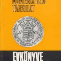 A Magyar Numizmatikai Társulat Évkönyveinek tartalomjegyzéke