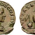 Lituus - egy papi jelkép római érmeken