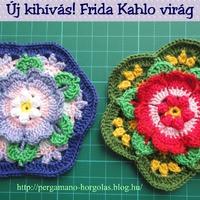 Új kihívás! Frida Kahlo virág