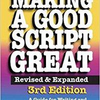 :DOCX: Making A Good Script Great, 3rd Ed.. rifle LANSING dreamed density Pruebas