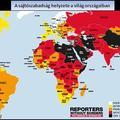 A sajtószabadság helyzete a világban