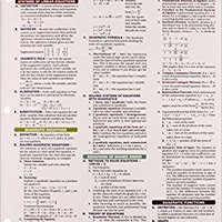 Algebra 2 - REA's Quick Access Reference Chart (Quick Access Reference Charts) Download.zip