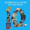 Egy évtizednyi rajongói ötlet és közös munka