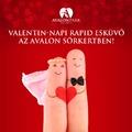 Házasságkötés Valentin-napon?