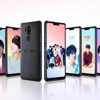 K-Pop szupersztárok kizárólag az LG okostelefonokon