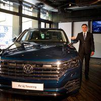 Budapesten is bemutatkozott az új Volkswagen Touareg
