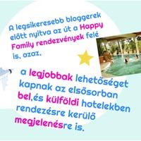 A Happy Family, VIP blogos pályázati kiírása: