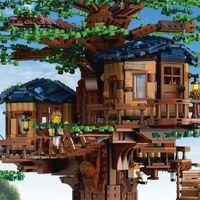 LEGO® Lombház fenntartható kockákból