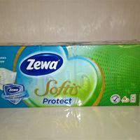 A Zewa megalkotta az új Zewa Softis Protect papír zsebkendőt, mely antibakteriális és vírusölő összetevőjének köszönhetően csökkenti a vírusok és baktériumok számát a papír zsebkendőben!