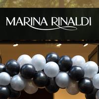A Marina Rinaldi Divatház megnyitóján