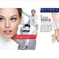 Maradjon az arcbőröd mindig friss!!! Hogyan? A MABELLINE SuperStay24 a válasz rá!