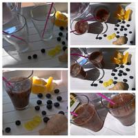BWT vízzel egy mennyei Áfonyás-gyömbéres-narancsos limonádé!