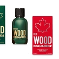 DSQUARED2 legújabb illatpárosa: GREEN&RED WOOD