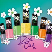 A Rimmel bemutatja  Rita Ora együttműködésével megalkotott tavaszi/nyári körömlakk kollekcióját