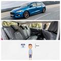 A vadonatúj Ford Focusban minden eddiginél jobban elférnek a gyerekek, akik 2 centit nőttek az iskolakezdésre