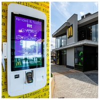 Gyöngyösön nyitotta meg új éttermét a McDonald's