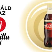 Itt a várva várt Coca-Cola zero Vanilla, az idei nyár slágere!