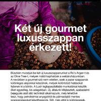 LUSH = gourmet luxusszappan