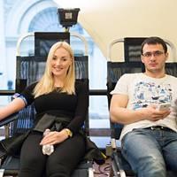 A Magyar Vöröskereszt 10. alkalommal rendezett véradást a felsőoktatási intézményekben