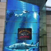 Paul&Shark a Londoni Harrods-ban.