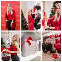 Az Intimissimi Weisz Fannival közösen mutatta be karácsonyi kollekcióit