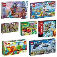 Bármi is izgatja gyereked fantáziáját, a LEGO® szettek között megtalálod a megfelelő meglepetést
