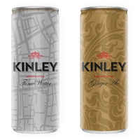 Megújult a Kinley termékcsalád.