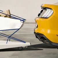 'önfékező bevásárló kocsi' a FORD-tól.