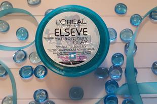 Hajpakolás = L'Oréal Extraordinary Clay!