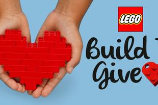 A LEGO Csoport 1 millió LEGO® szettet adományoz rászoruló gyerekeknek