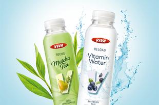 Az OMV VIVA vitamindús, természetes italokkal bővíti a kínálatát