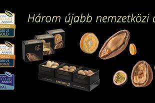 Újabb 3 nemzetközi díjat zsebelt be a magyar chocoMe manufaktúra