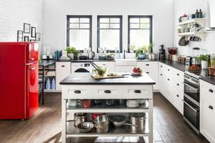 Elég egy szín az inspiráló konyhához!