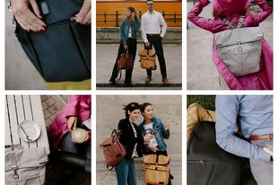 Bemutatkozik egy magyar design táska, a: GRUDO