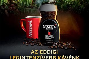 Kóstold meg az új NESCAFÉ® Classic Black Roast kávét!