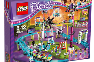 LEGO FRIENDS! Az öt barátnő vidámparki kalandjai, és a kislányom nagy kedvencei